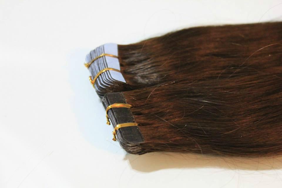 Коса со стикери - Лепенки